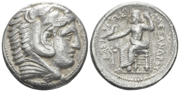 Kingdom of Macedon, Philip III Arridaeus, 323-317 Amphipolis Tetradrachm circa 323-320 - Ex New York sale 173, 2013, 97 (part of).  (Starting Bid £ 100 *)