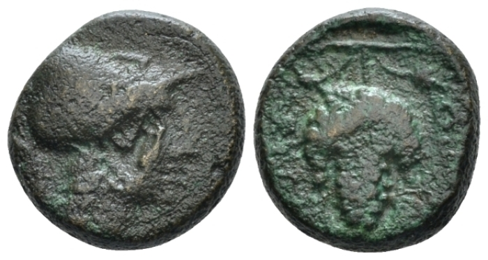 Locris, Locri Opuntii Bronze II cent. BC - From the duplicates of the BCD collection. (Starting Bid £ 25 *)