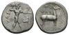 Bruttium, Caulonia Nomos 475-425 (Starting Bid £ 150 *)